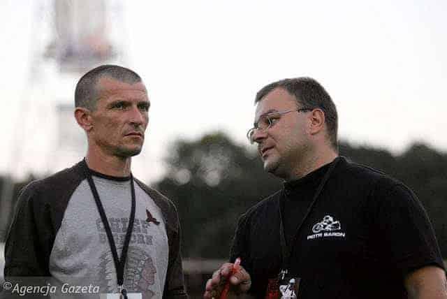 z9080907IHDariusz Sledz z lewej i Piotr Baron nowe pokol