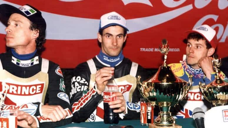 1995 fot. Robert Borowy SGP lewo Nielsen prawo Louis 1