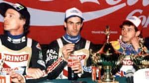 1995 fot. Robert Borowy SGP lewo Nielsen prawo Louis