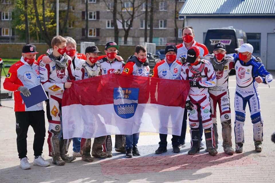 Lokomotiv Daugavpils po wygranej z Landshut