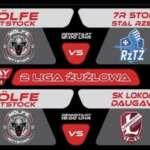 Dwa mecze jednego dnia Wolfe Wittstock! - Wolfe Wittstock - 7R Stolaro Stal Rzeszów 12:00 i Wolfe Wittstock - Optibet Lokomotiv Daugavpils!