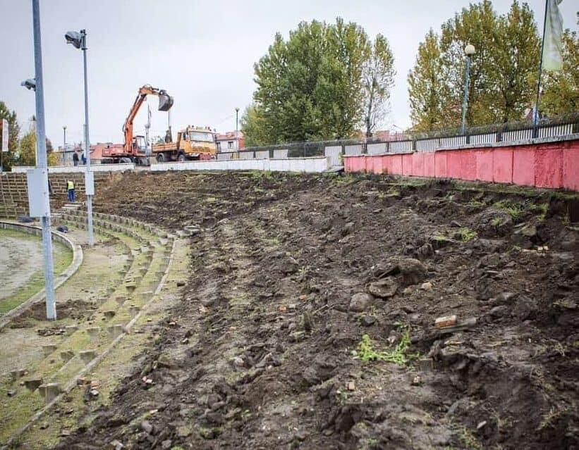 Arged Malesa Ostrów Wlkp. modernizuje stadion!